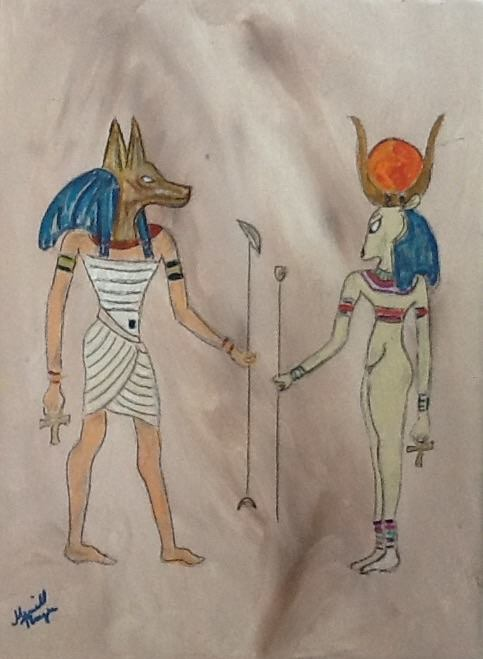 Egyptian God and Goddess