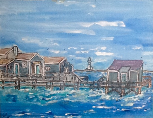 New England Coastal Town