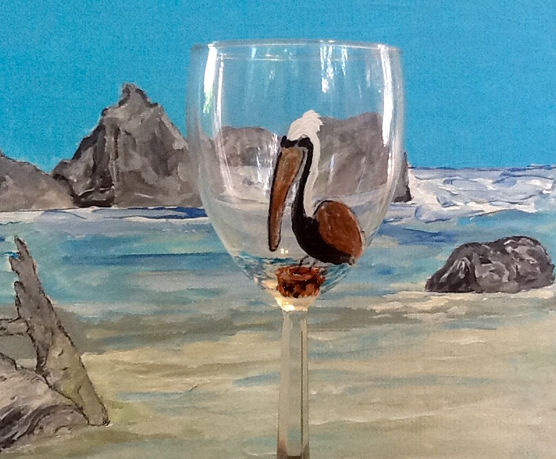 Pelican Bay Wine Glass