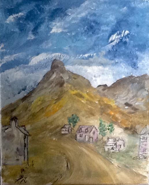 Pueblo en el Valle