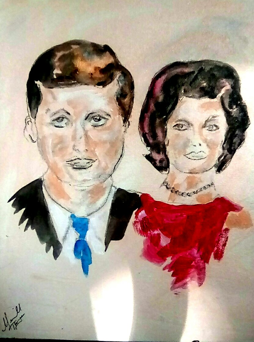 J.F.K and First Lady 1963