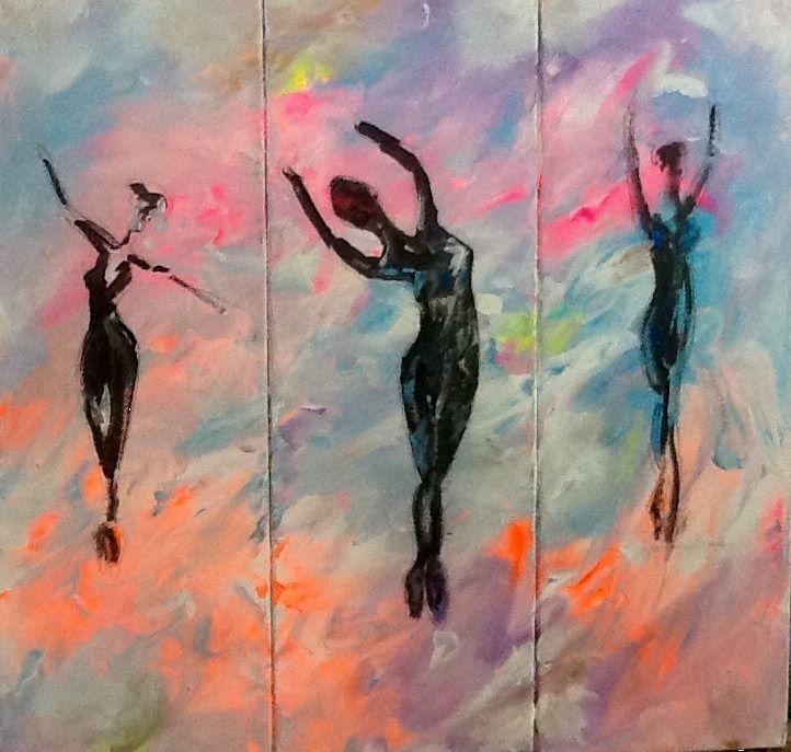 Triptych Dancers